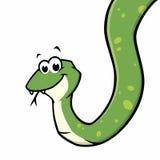 Serpente del fumetto Immagini Stock