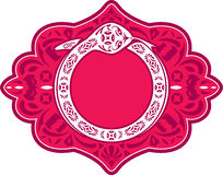 Serpente dell'elemento cinese del grafico di nuovo anno Fotografia Stock Libera da Diritti