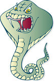 Serpente della cobra Immagini Stock