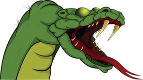 Serpente. Desenhos animados Fotos de Stock Royalty Free