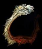 Serpente di frattalo Fotografia Stock
