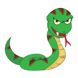 Serpente di sguardo minacciante sveglio Immagine Stock Libera da Diritti