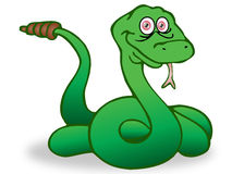 Serpente do chocalho Fotos de Stock