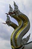Serpente do estuque Fotos de Stock Royalty Free