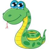 Serpente dos desenhos animados Fotografia de Stock