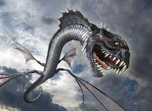 Serpente Dragon Attacks illustrazione vettoriale