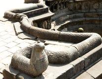 Serpente feita da pedra Foto de Stock Royalty Free