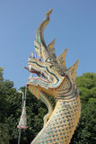 Serpente gigante tailandesa Imagens de Stock Royalty Free