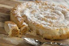 Serpente marroquina pastelaria dada forma Imagens de Stock