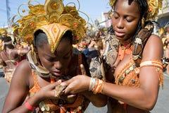 Serpente no carnaval Imagens de Stock Royalty Free