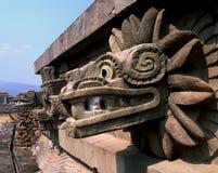 Serpente Quetzalcoatl Fotografia Stock Libera da Diritti
