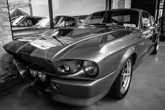 Serpente super de Shelby GT 500E Imagens de Stock Royalty Free