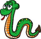 Serpente sveglio Fotografia Stock Libera da Diritti