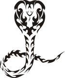 Serpente tribale Fotografia Stock