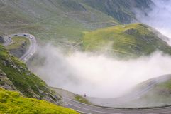 Serpentin moutain road Royalty Free Stock Photo