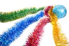 Serpentina Varicoloured de la Navidad Fotos de archivo libres de regalías