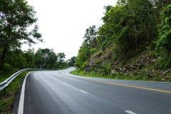 Serpentine дорога стоковые фотографии rf