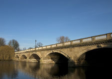 Serpentine Bridge, Hyde Park. London Royalty Free Stock Image
