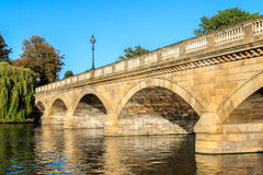 Serpentine Bridge in Hyde Park Royalty Free Stock Photos