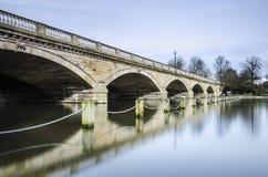 Serpentine Bridge, Hyde Park, London stock images