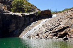 Serpentine Falls, Australie occidentale Photos libres de droits