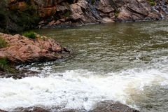 Serpentine Falls e parco nazionale immagine stock libera da diritti