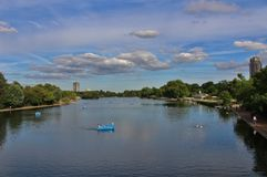 The Serpentine, Hyde Park Stock Photo