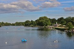 The Serpentine, Hyde Park Royalty Free Stock Photo