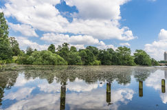 Serpentine lake in Hyde Park, London Stock Image