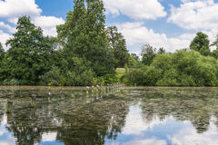 Serpentine lake in Hyde Park, London Royalty Free Stock Image