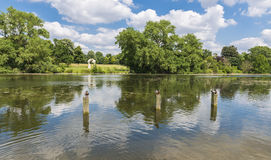 Serpentine lake in Hyde Park, London Stock Photos