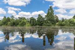 Serpentine lake in Hyde Park, London Royalty Free Stock Photography