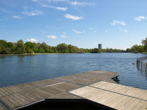 Serpentine lake, London Royalty Free Stock Photo