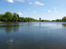 Serpentine lake, London Stock Photography