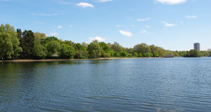 Serpentine lake, London Royalty Free Stock Photos