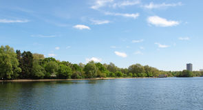 Serpentine lake London Stock Photography