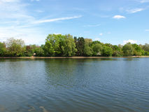 Serpentine lake, London Royalty Free Stock Photos