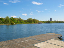 Serpentine lake, London Royalty Free Stock Image