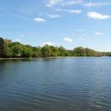 Serpentine lake, London Royalty Free Stock Photo