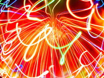Serpentine light Royalty Free Stock Photo