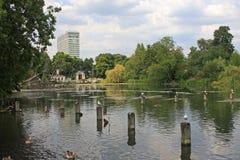Serpentine, Londres image libre de droits
