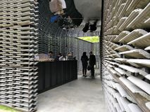 Serpentine Pavilion 2018 Photo libre de droits