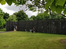 Serpentine Pavilion 2018 Images stock
