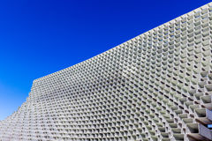 Serpentine Pavilion in Hyde Park. London, UK - October 3, 2016 - The Serpentine Gallery summer pavilion, designed by Danish architects Bjarke Ingels Stock Photo