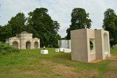 Serpentine Pavilion Summer Houses exhibition Stock Photography