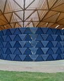 Serpentine pavillon architectural detail during the day in London Royalty Free Stock Photos