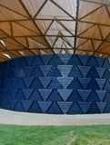 Serpentine pavillon architectural detail during the open day in London Royalty Free Stock Image