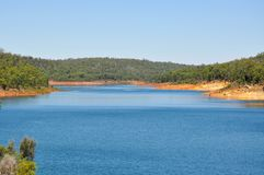 Serpentine River Landscape Royalty Free Stock Photography