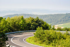 Serpentine road Royalty Free Stock Images
