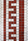 Serpentine tile design Royalty Free Stock Photo